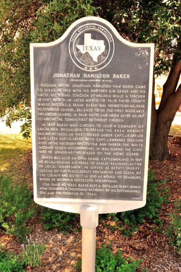 Baker Historic Marker