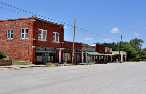 Palo Pinto Texas South of the courthouse.