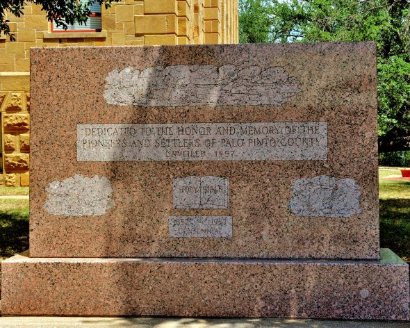 Monument to the Pioneers of Palo Pinto