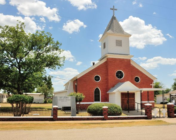 Catholic Church in Strawn